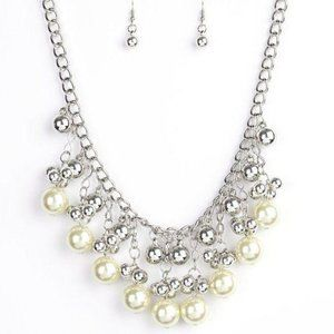 Pearl Appraisal – Yellow Necklace Earrings Set